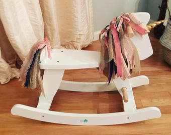 Heirloom Quality Unicorn Rocking Horse