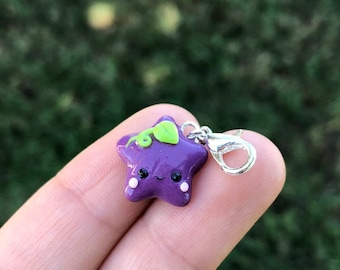 Grape Star Charm