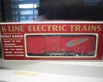K-Line WESTERN PACIFIC  Boxcar #K648104 Mint in the Original Box