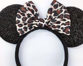 Leopard Mickey Ears, Cheetah Mickey Ears, Leopard Minnie Ears, Cheetah Minnie Ears, , Animal Kingdom Ears,