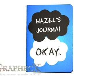 The Fault in our Stars inspired personalized journal notebook