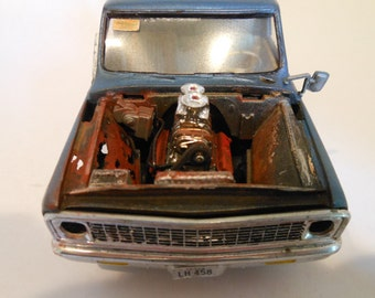 Classicwrecks ,Scale Model, Truck ,Rat Rod ,Rusted Wreck,Barn find