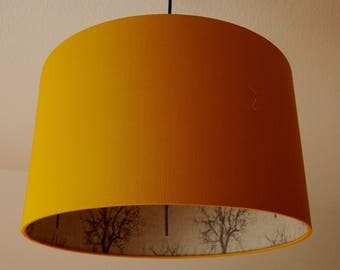 "Ceiling lamp ""trees"" (curry yellow-mud)"