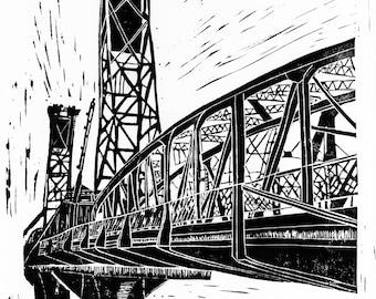 Hawthorne Bridge, Portland, Oregon