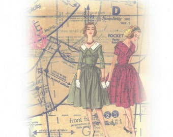 BOOKLET - 'A Guide to Adjusting and Altering Vintage Sewing Patterns' Compiled by The Vintage Pattern Store known as tvpstore on etsy