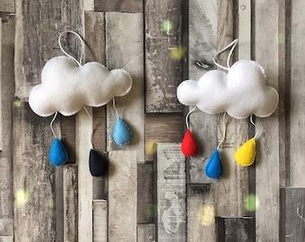 Individual Raindrop cloud