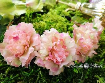 Love Story Peach Rose Flower Crown, Brides, Bridesmaids or Flower Girls Headband,Rose Floral Crown