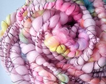 Art Yarn-Handspun Yarn - Available by the Yard!