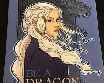 Be A Dragon Postcard (Item 09-395)