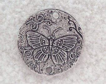 Green Girl Studios Pewter Butterfly Myth Link