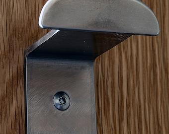 Towel hook / Towel Hanger, Modern wall hook, Robe Hook, Coat hook, Bathroom or Kitchen, Minimal Modern design, Stainless Steel