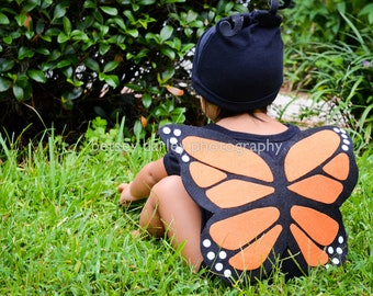 Butterfly Kids Costume // Baby Halloween Costume / Monarch Butterfly