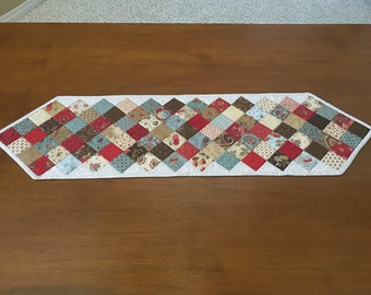 """Patchwork Table Runner """"Friendship"""" Collection For A Cause by Howard Marcus"""
