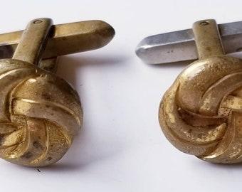 Vintage Hickok Lover's Knot Cufflinks