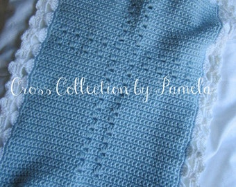 Crochet Angels Around Your Memorial Blanket, PDF ePattern, 15 inches by 18 inches (38 cm by 46 cm)