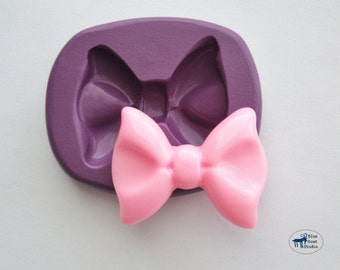 Bow Mold/Mould - Ribbon Mold - Silicone Molds - Polymer Clay Resin Fondant