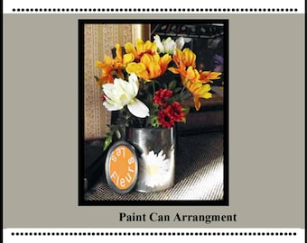 Paint Can Arrangement