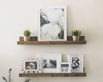 Ledge Shelf, Floating Shelves, Wall Shelf, Picture Ledge Shelf, Gallery Shelf, Nursery, Bookshelf
