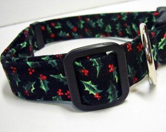 Doodlebug Dud's Holly Collar