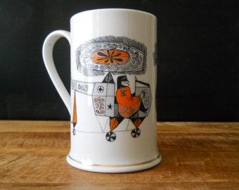 Cool Mid Century Modern Beer Mug