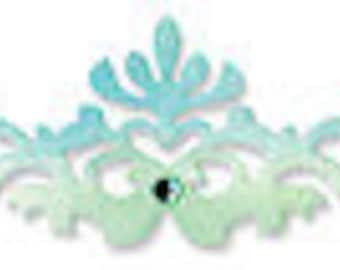 Sizzix Sizzlits Decorative Strip Die 12.625'X2.375'-Regal Edging