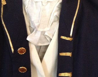 Historical child size naval officers uniform