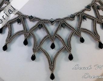 Masquerade Ball Necklace Tutorial