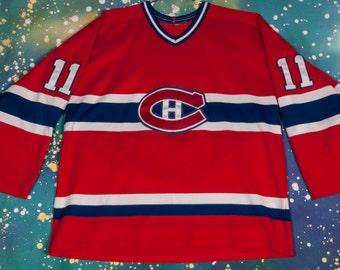 Montreal CANADIENS #11 Koivu Hockey Jersey Size XL