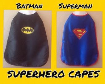 Batman, Batman Cape, Superman Cape, Superhero Cape,  Spiderman Cape, SuperGirl, Black Cape, Blue Cape, Superman, SUPERHEROS