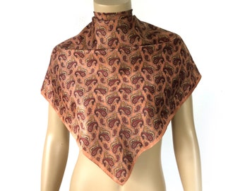 """Vintage Pasley Scarf 30x31"""""""