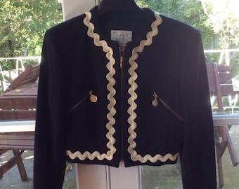 SUPER RARE!! Vintage Moschino Cheap and Chic blazer