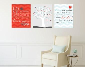 Love Me Tender, Elvis Presley Poster, Nursery Art, Baby Boy, Girl Wall Art // Custom match colors to your room // N-G56-3PS AA1 03S