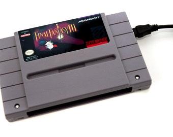 SNES Hard Drive - Final Fantasy III USB 3.0