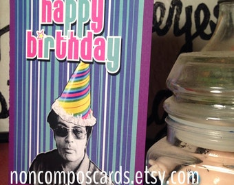 Jim Jones Birthday Card Jonestown Massacre Kool Aid Killer Mass Murderer