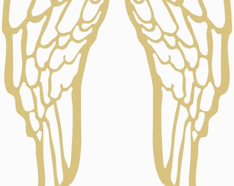 Angel wings wood etsy michaels wings unfinished wooden craft shape do it yourself solutioingenieria Image collections
