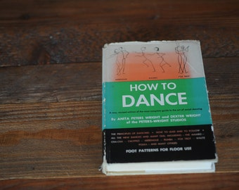 How to Dance, an illustrated guide from 1958