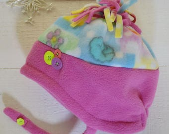 Bright and Warm toddler hat