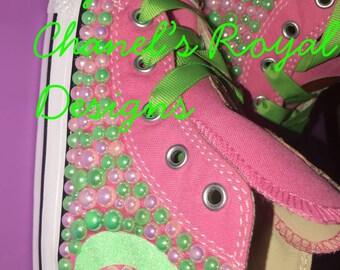 Princess tiana custom shoes