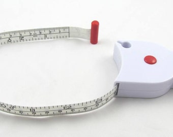 Retractable Measure Yourself Body Tape Measure - 60""