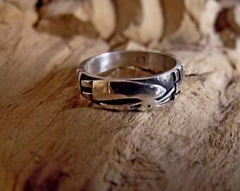 KoKoPelli Sterling Silver 7mm wide band RF719