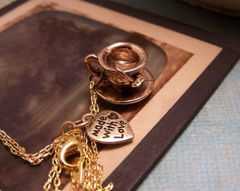 Time for Tea Necklace