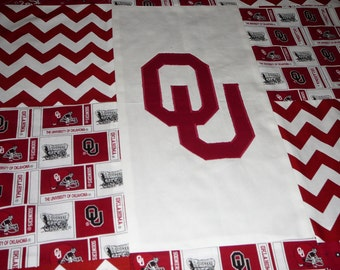 OU Baby Blanket or Quilt