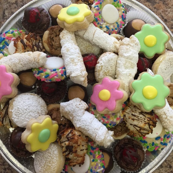 Spring Cookie Tray