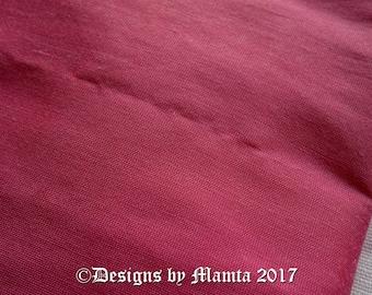Thulian Pink Art Silk Dupioni Fabric, Wedding Decoration Fabric, Indian Silk Fabric Fat Quarter, Silk Fabric, Thistle Violet Art Silk Fabric