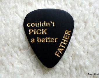 Personalized Guitar Pick/Plectrum, Personalized Pick, Custom Pick, Engraved Pick, Valentine's Day