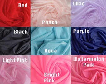 Glissenette Fabric Available in 9 Colors