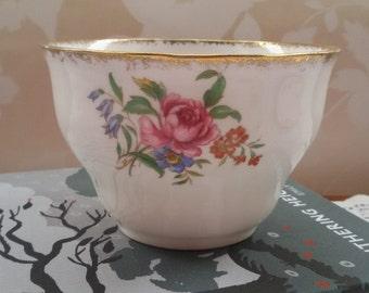 Colclough Floral Sugar Bowl