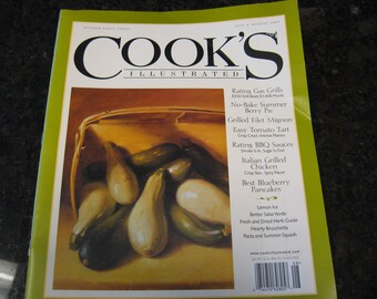 Cook's Illustrated Magazine #63 from July & August of 2003
