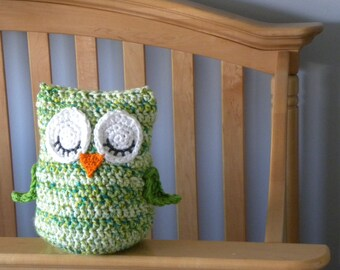 """CROCHET PATTERN -  """"Owl Love You Forever"""" Cuddle Pillow Pattern"""