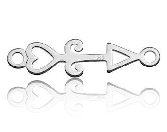 Charm Arrow Sterling Silver 925